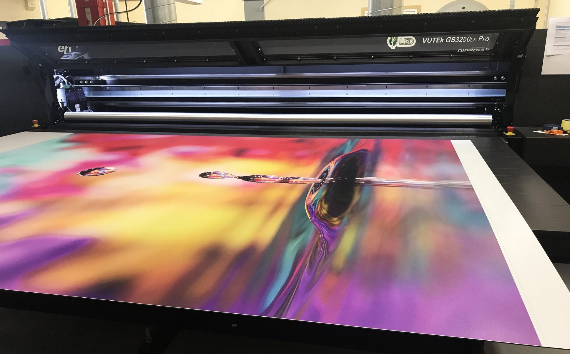 Printing on various kind of sheet materials